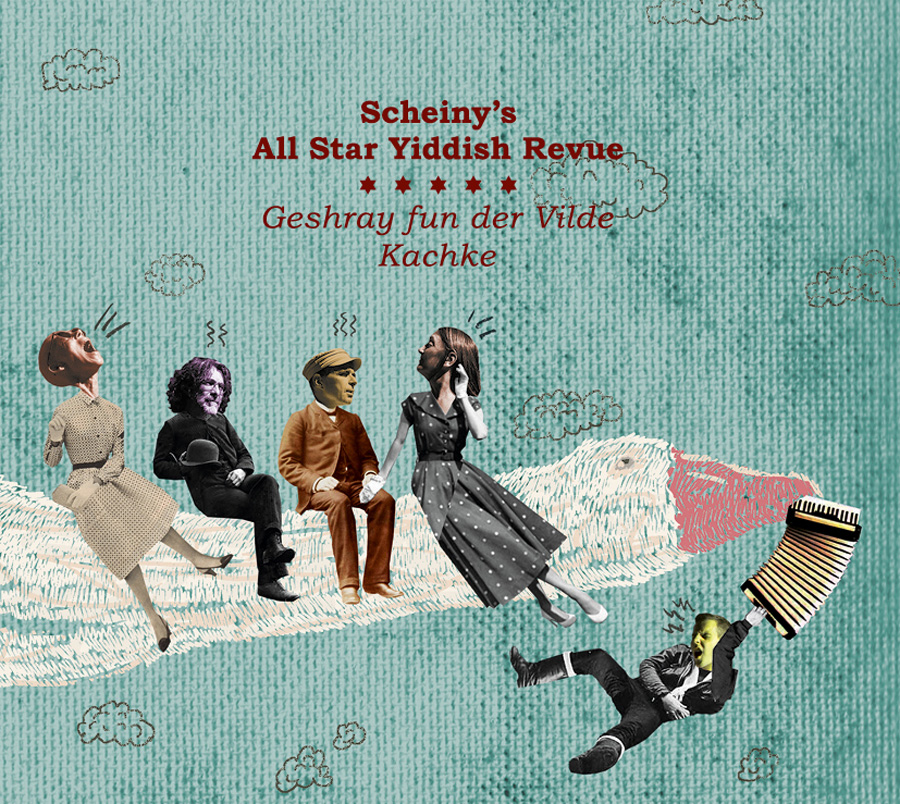 SCHEINY´S ALL STAR YIDDISH REVUE Cover 900