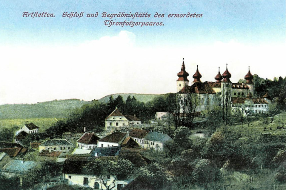Schloss Artstetten Illustraion S. 21