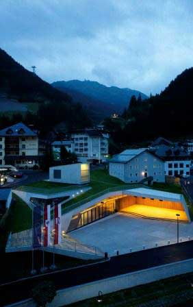 Kulturzentrum Ischgl, Tirol © David Schreyer