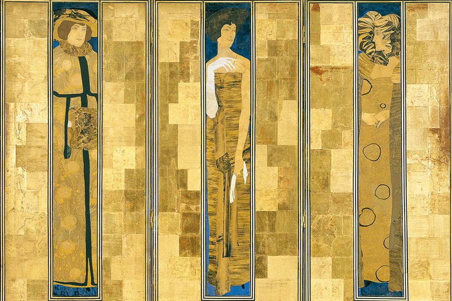 Koloman Moser, Paravent, 1906 (Detail)© MAK/Georg Mayer