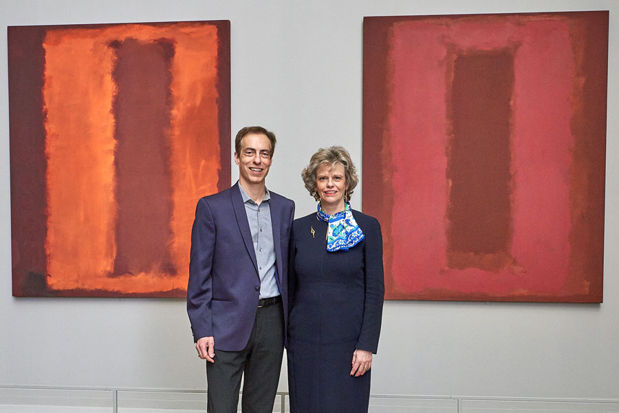 Christopher Rothko und Sabine Haag Foto: KHM-Museumsverband