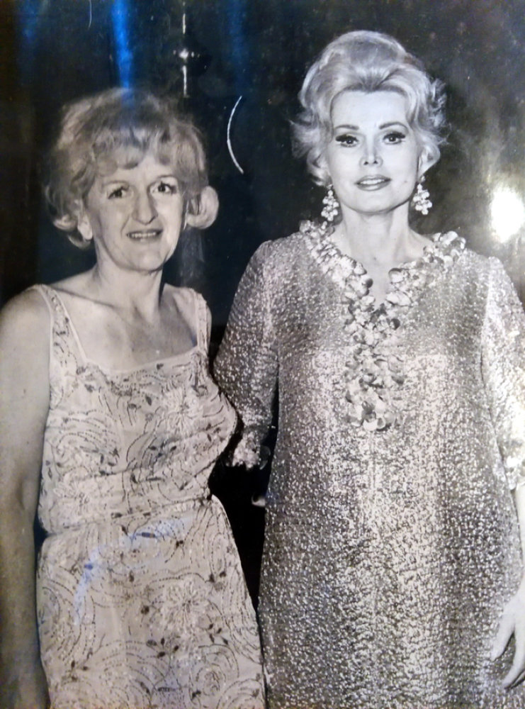 Trude Forsher mit Zsa Zsa Gabor © James Forsher Estate