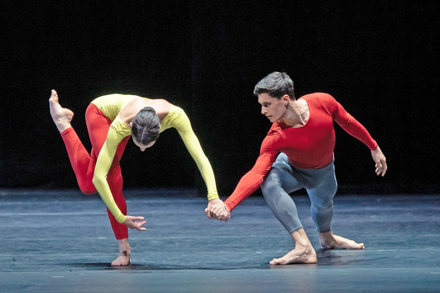 Ensemble in Adagio Hammerklavier  © Wiener Staatsballett/Ashley Taylor