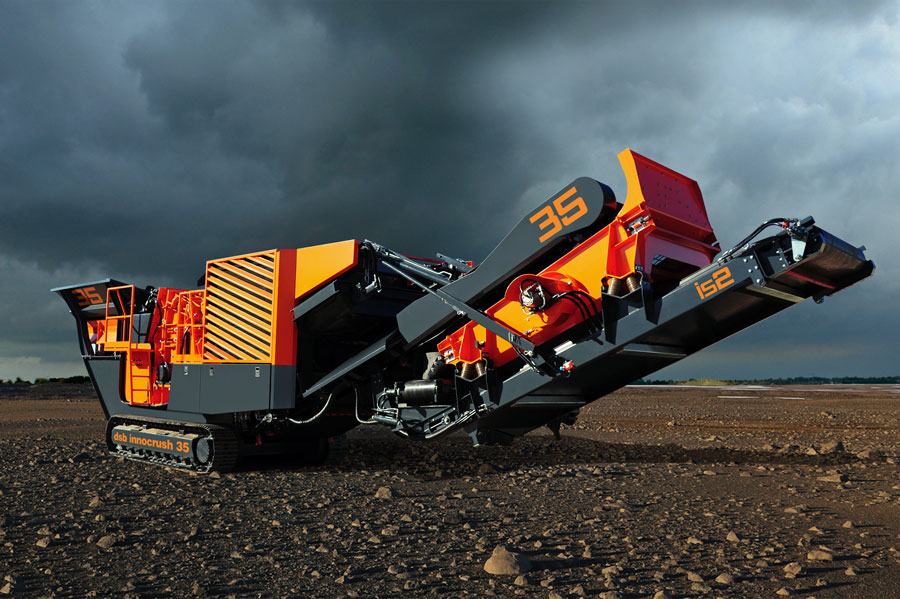dsb innocrush Rock Crusher © dsb Mschinenbau GmbH.