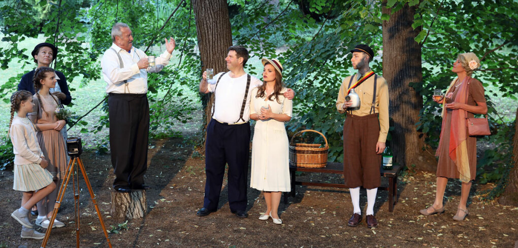 Don Camillo und Peppone Ensemble © Rolf Bock